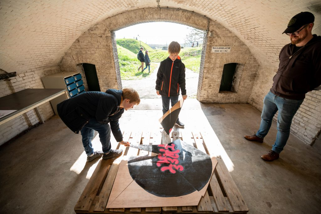Tweetakt Fort Ruigenhoek